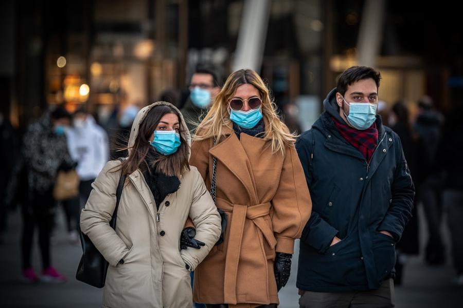 L'epidemia in Italia:3.908 nuovi positivi e 39 morti