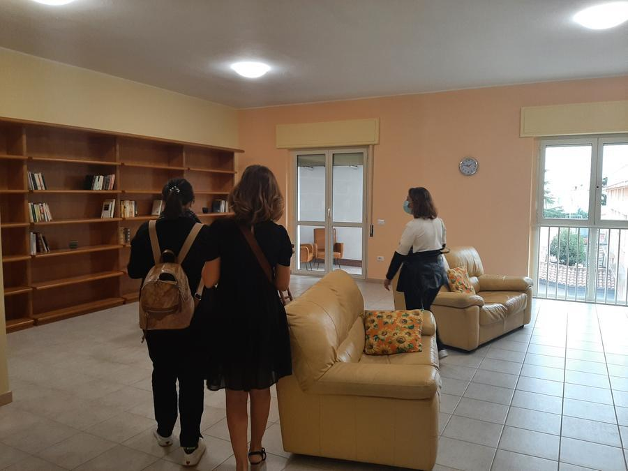 Casa Main accoglie i visitatori (L'Unione Sarda - Nachira)