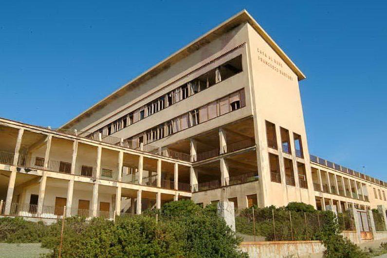 L'ex colonia marina di Funtanazza (Archivio L'Unione Sarda)