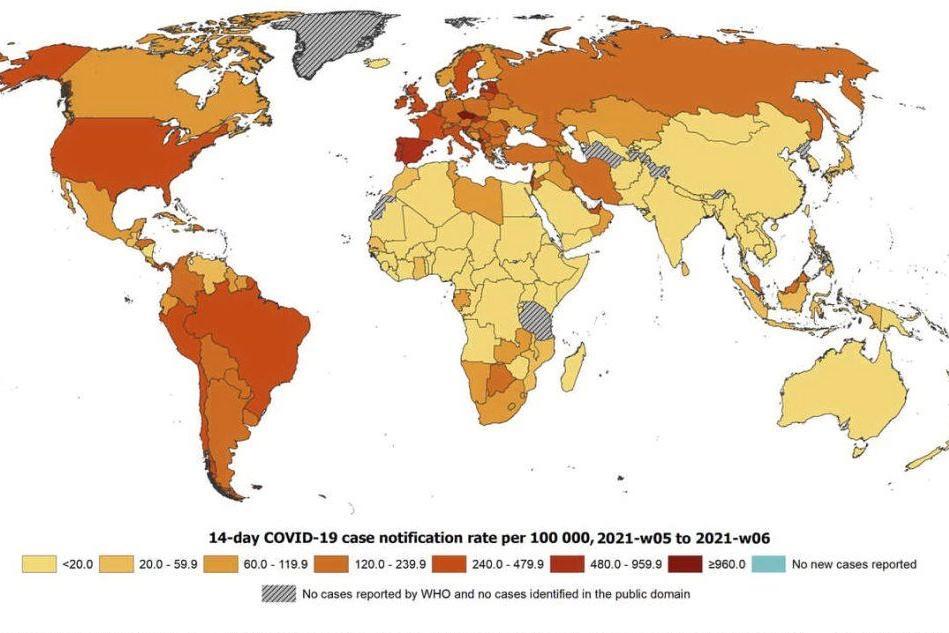 Nuova mappa Ue sul Covid: la Sardegna diventa arancione