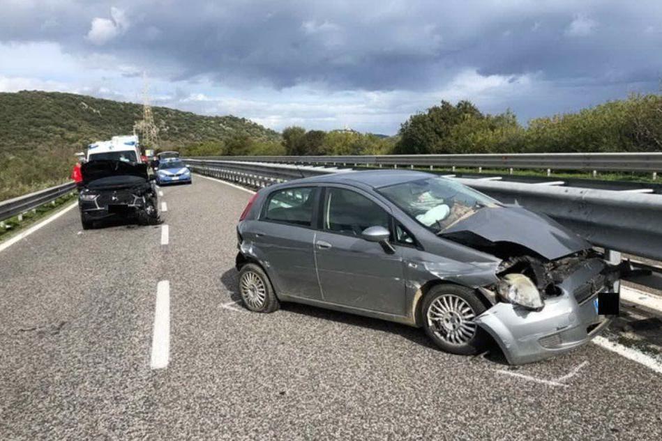 Il luogo dell'incidente (foto Ledda)