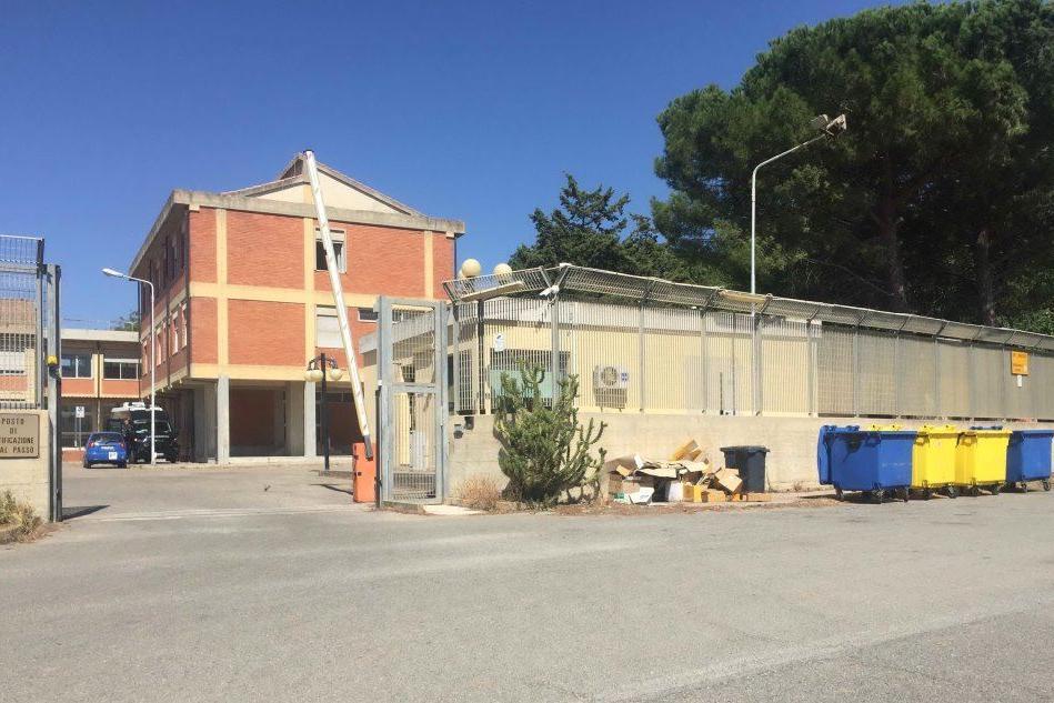 Il centro migranti di Monastir (Archivio L'Unione Sarda)