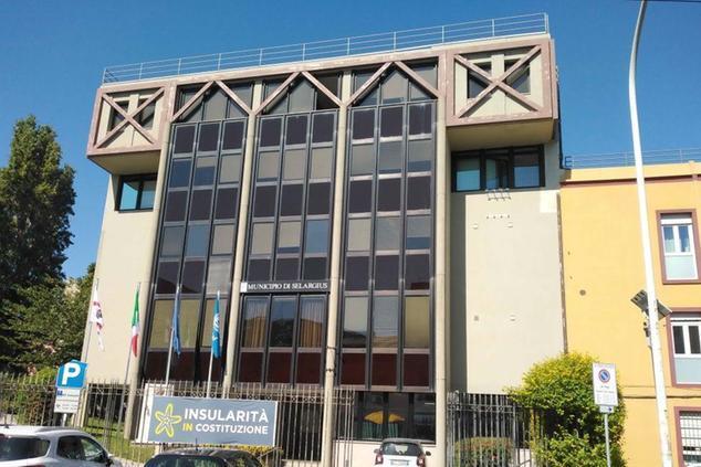 Il municipio di Selargius (archivio L'Unione Sarda - Lai)