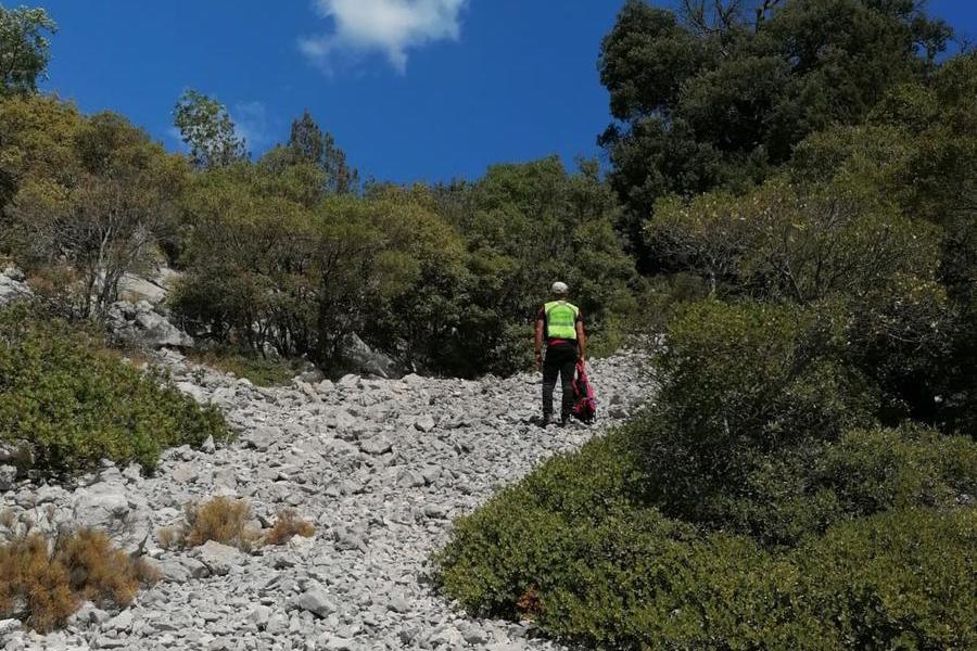 Sospese le ricerche di Claudio, l'escursionista disperso nel Supramonte di Baunei
