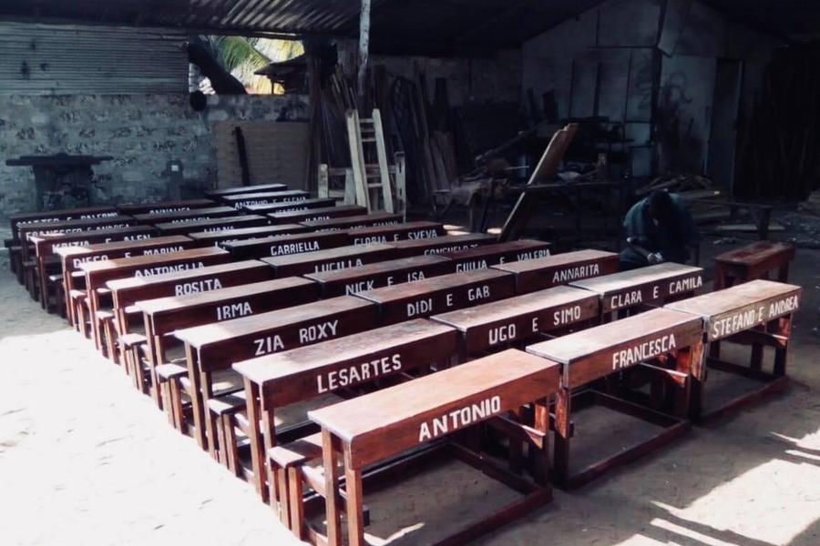 Unmiracolo chiamato Kenya School Desk
