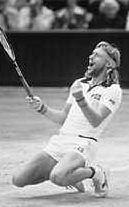 Il tennista nel 1980
