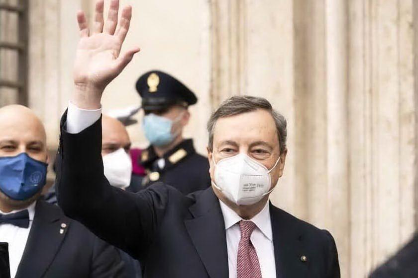 Mario Draghi (Archivio L'Unione Sarda)