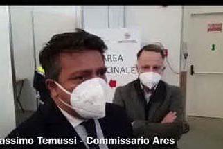 Hub vaccini a Oristano, l'intervista a Massimo Temussi