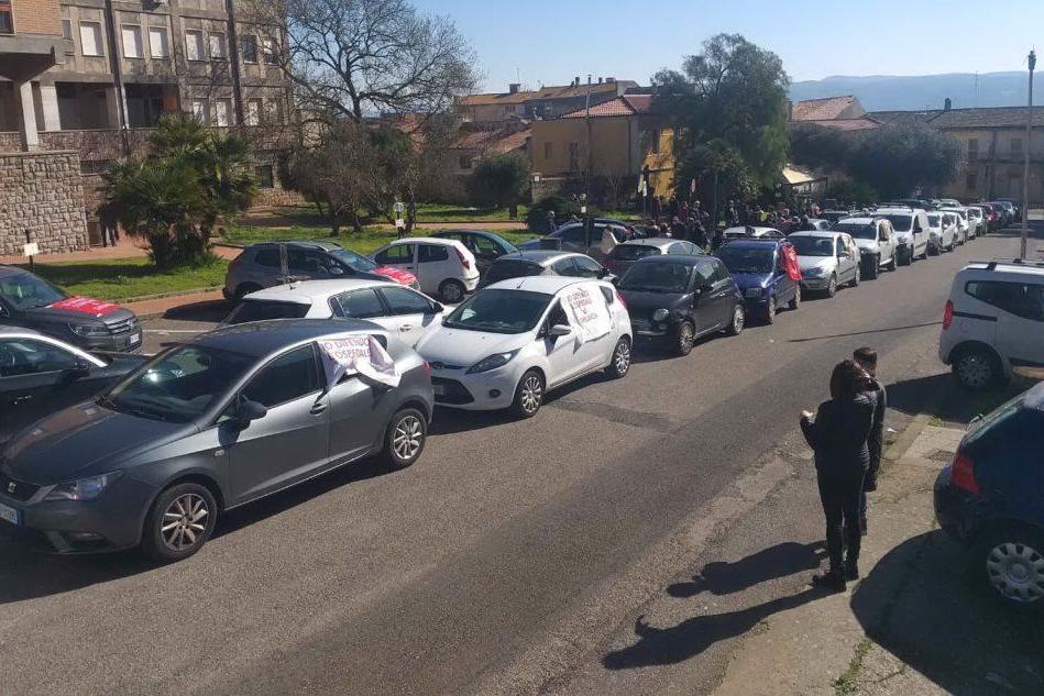 Ghilarza, nuova protesta per l'ospedale