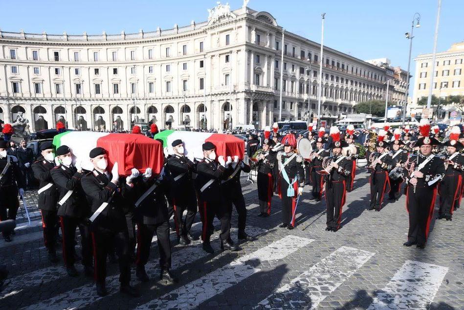 I funerali di Attanasio e Iacovacci