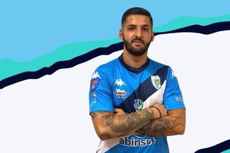 Il centrocampista Luca Tedde (foto ufficio stampa)