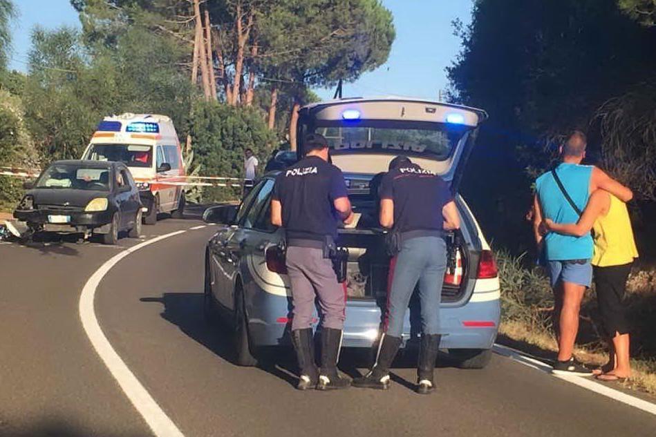 In moto contro un'auto: Alghero, muore un militare