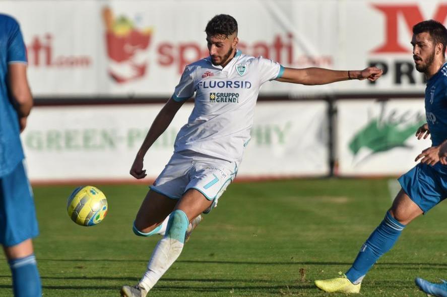 Nunzio Lella e l'Olbia ancora insieme: rinnovato il prestito dal Cagliari per un altro anno