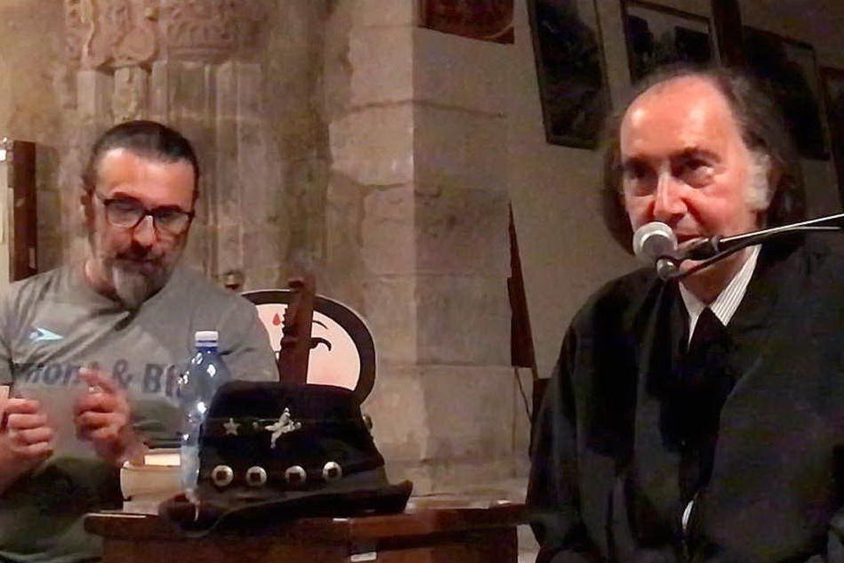 Gavino Sanna incontra Soleandro, l'amore puro in scena a Busachi