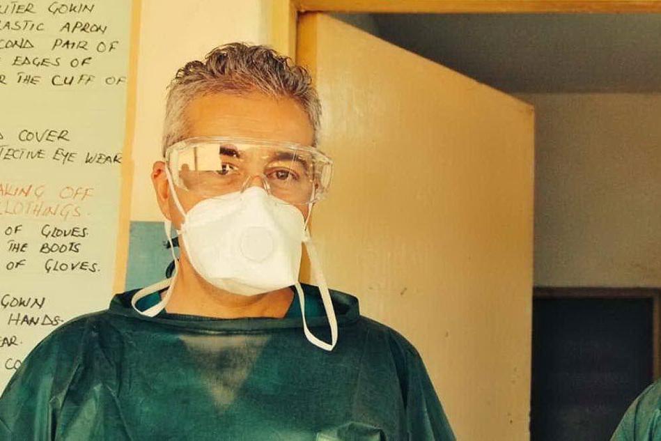 Dall'Ebola al Covid, i due amici che si salvano a vicenda