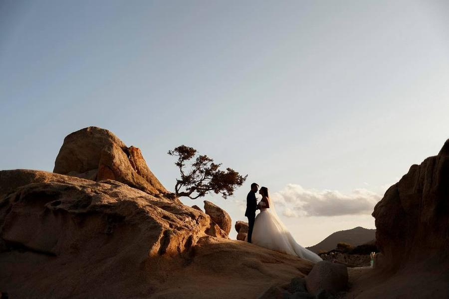 """Castiadas riapre alle nozze """"esperienziali"""": il matrimonio da favola di Angelo e Stefania"""