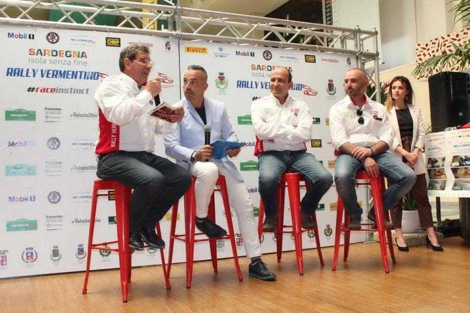 Olbia, presentato il Rally del Vermentino 2018