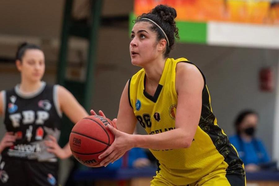 Basket A2 femminile, la Techfind Selargius conferma anche El Habbab