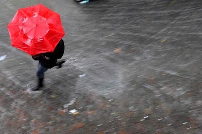 Allerta per piogge e temporali in Sardegna