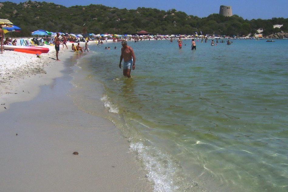 La spiaggia di Cala Pira