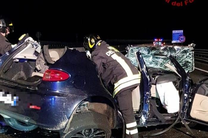 Quartu, auto contromano sulla Statale: un morto e un ferito in codice rosso