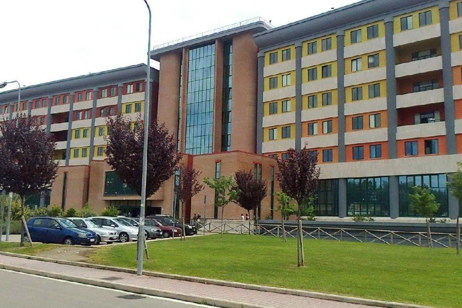 L'ospedale Spaziani di Frosinone