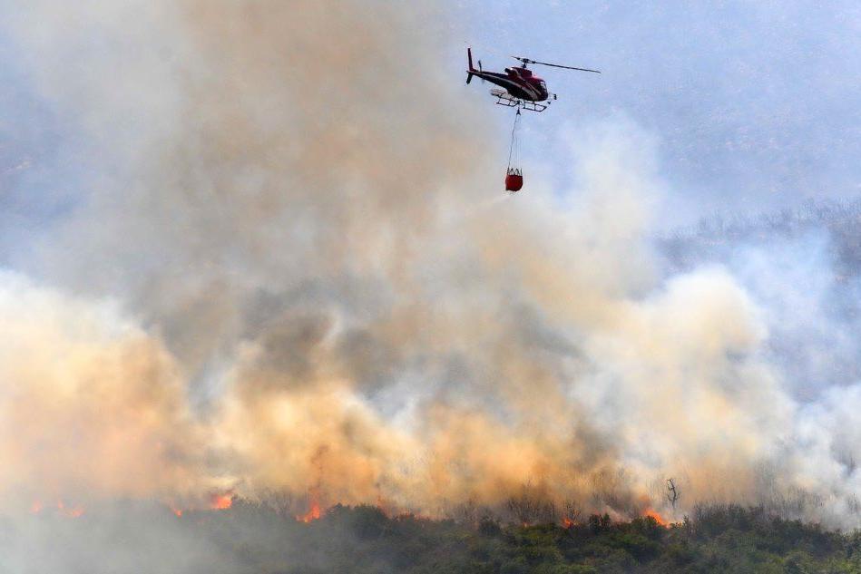 Pericolo incendi in SardegnaDa codice giallo ad arancione