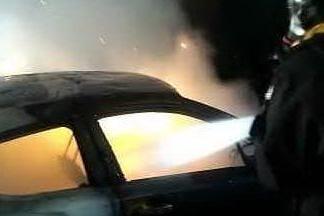 Tre macchine incendiate a Cagliari