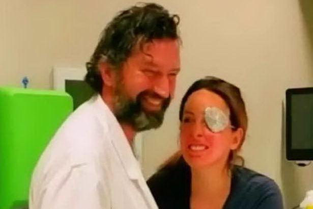"""Gessica Notaro felicissima dopo l'intervento: """"Rivedo il mio viso"""""""