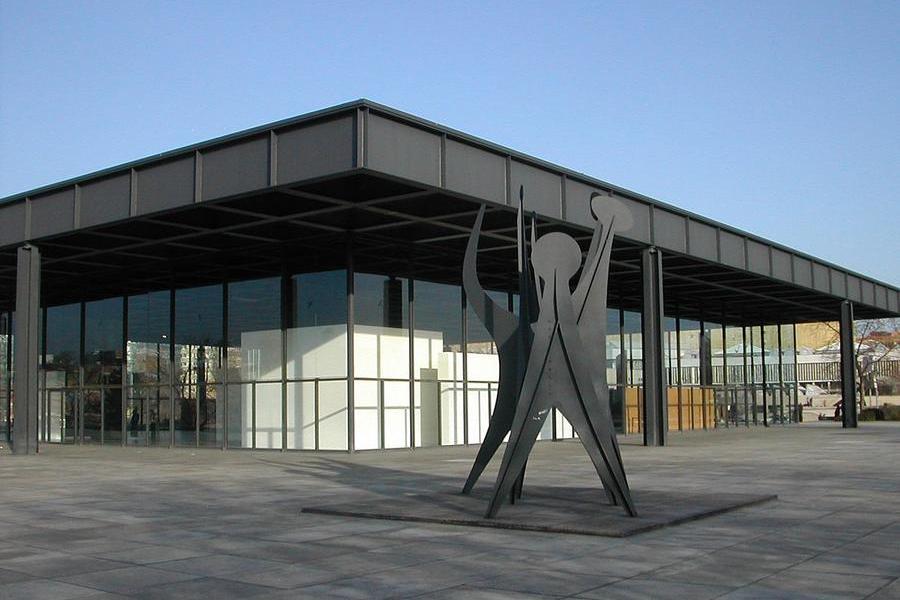 Riapre a Berlino il tempio di Mies van der Rohe