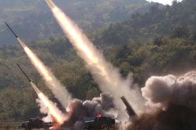 Pyongyang lanciadue missili balistici nel mar del Giappone