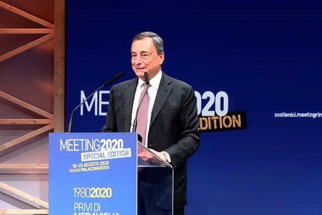 """Draghi: """"Ai giovani bisogna dare di piu'"""""""