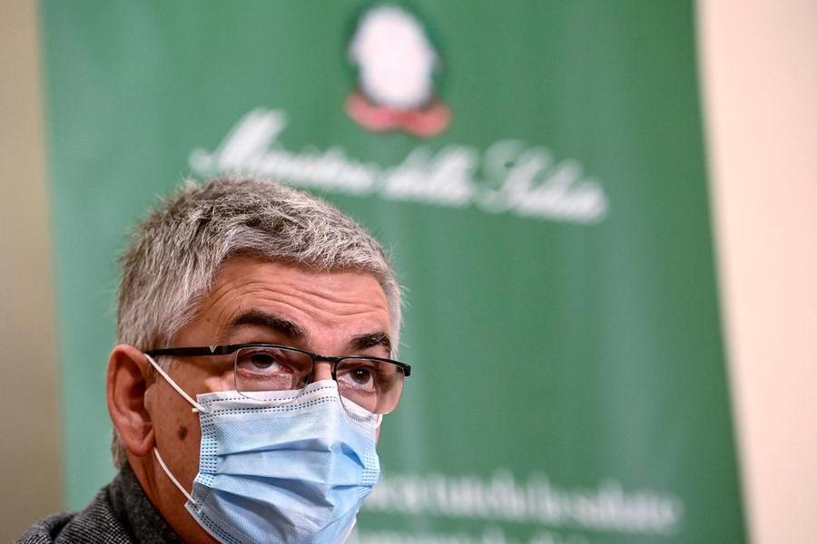 Silvio Brusaferro, presidente dell'Iss (foto Ansa)