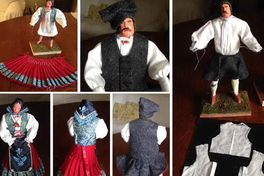 Nel Biellese il presepe con i personaggi in abiti tradizionali delle varie regioni