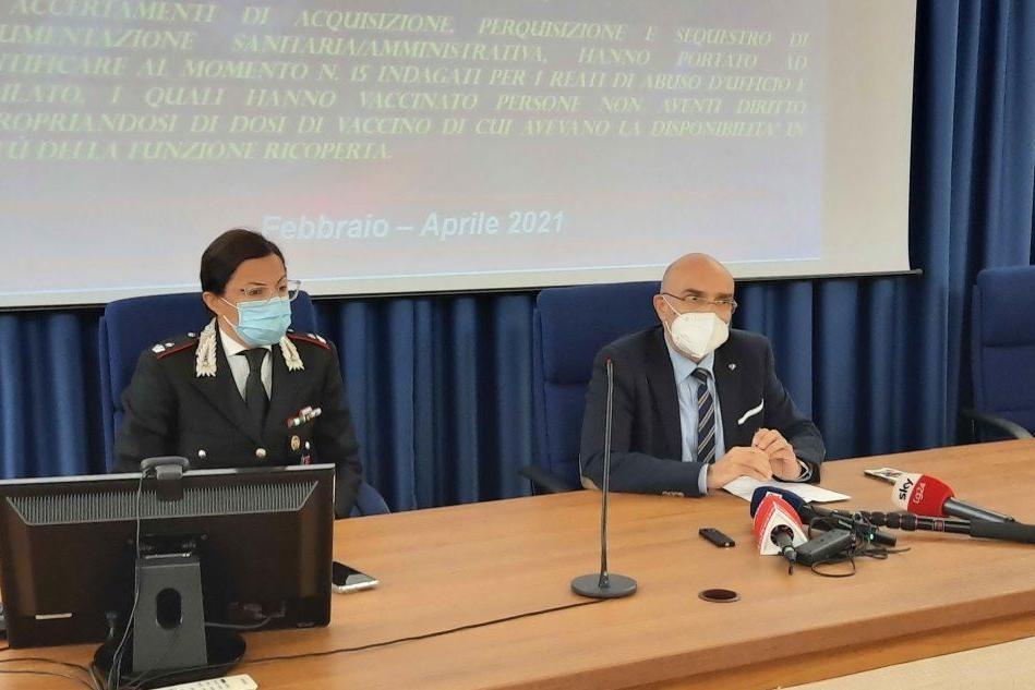 Furbetti dei vaccini nell'Oristanese, ci sono anche vertici delle forze dell'ordine