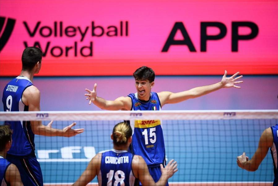 Volley, a Cagliari l'Italia under 21 sale sul tetto del mondo