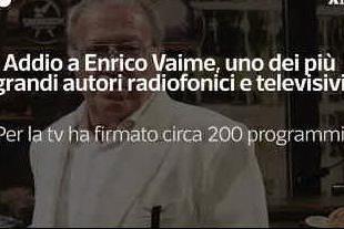 Addio a Enrico Vaime, penna e anima del varietà