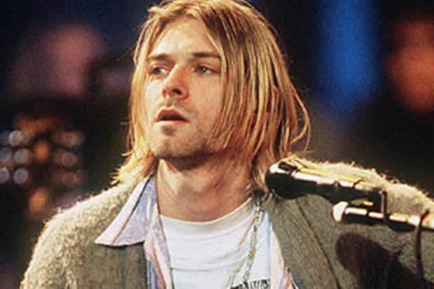 Il frontman Kurt Cobain, morto a 27 anni