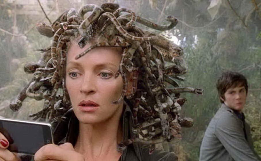 Nei panni di Medusa