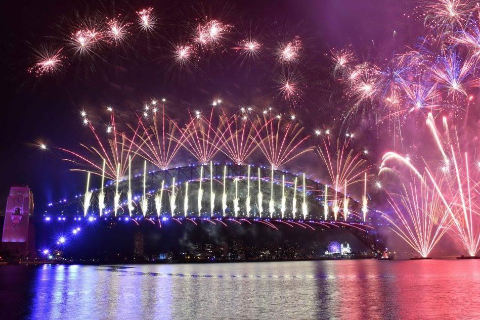 In Australia è già 2021: le immagini della festa