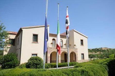 Il municipio di Nureci