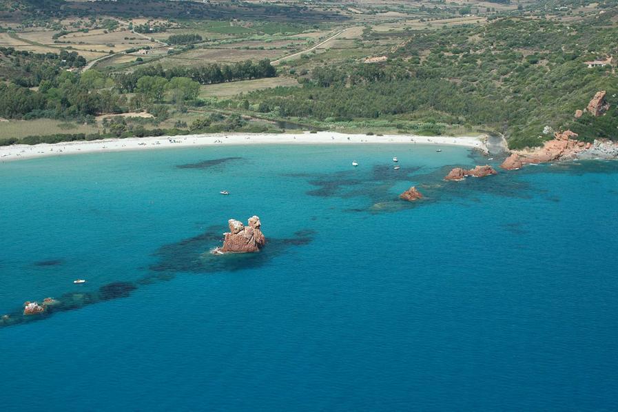 La spiaggia di Cea (foto @SardegnaTurismo)