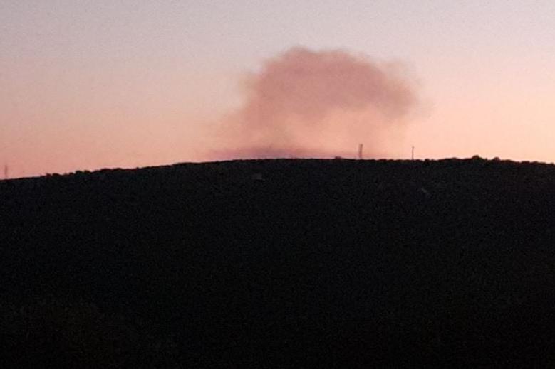 Fiamme nelle campagne tra Sennori e Osilo: alberi divorati dal fuoco