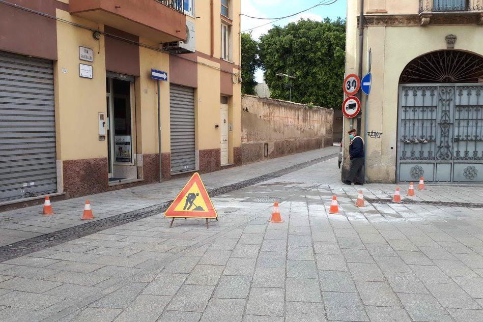 Al via la sostituzione dei chiusini, stop alla circolazione in via Garibaldi