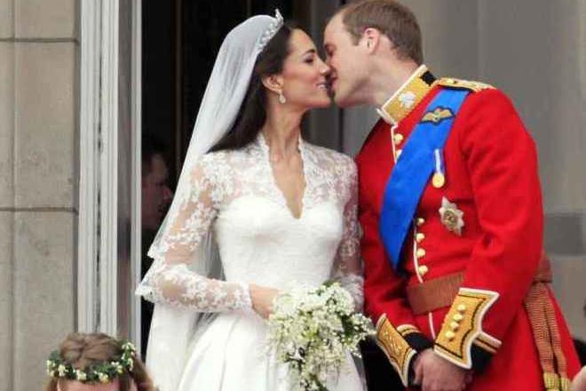 Il matrimonio\u00A0(foto AP/Matt Dunham)