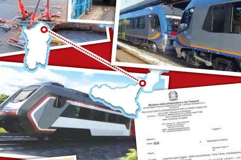 Treni bloccati in Sicilia, sospesa la rete sarda