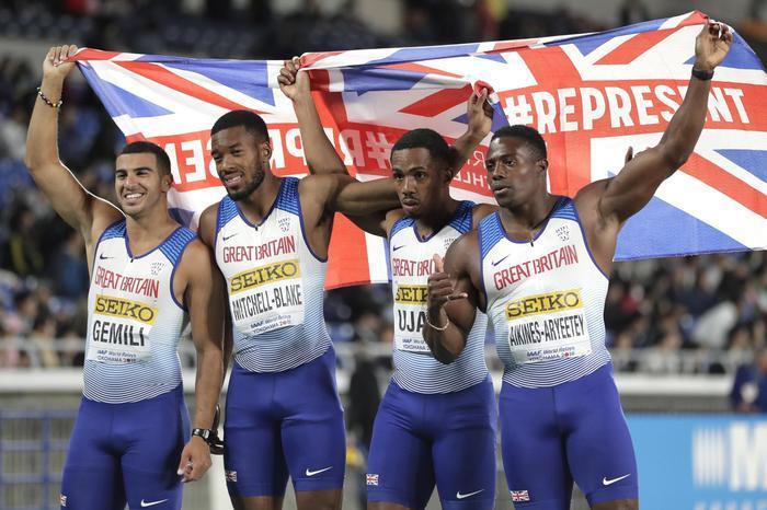 Doping:sospesoUjah, staffettista della 4X100 inglese. La medaglia d'argento è a rischio