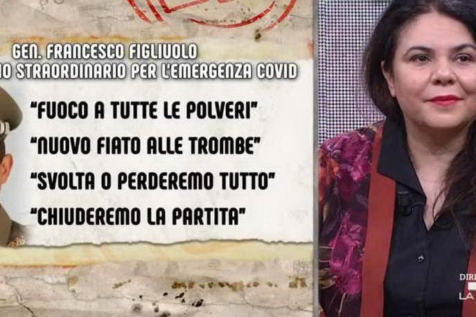 """Michela Murgia sul generale Figliuolo: """"Mi spaventa un commissario in divisa"""""""