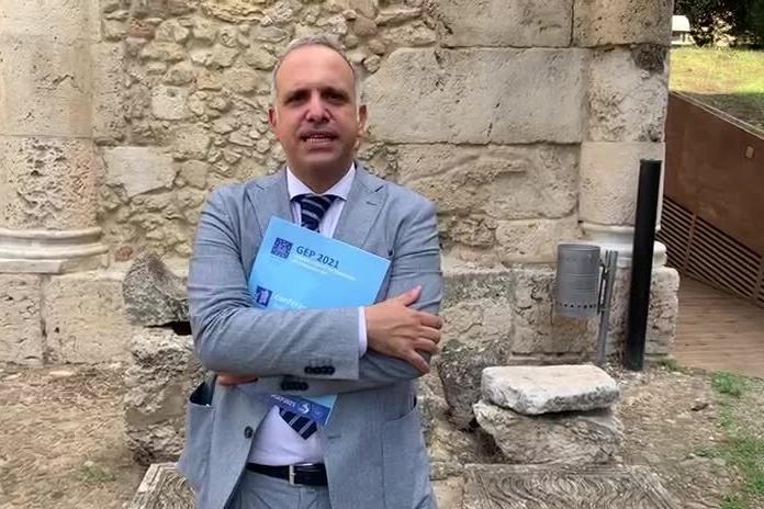 Francesco Muscolino presenta le Giornate europee del Patrimonio 2021