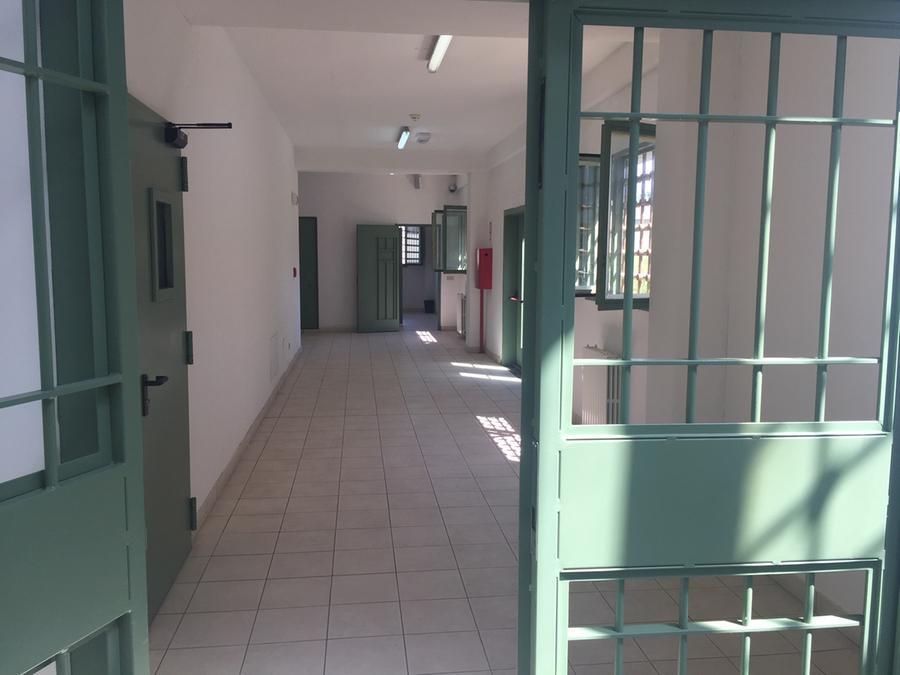 Il carcere di Massama a Oristano